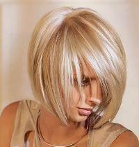 Выбор цвета Волос - блонд