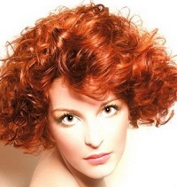 Выбор цвета волос - рыжий